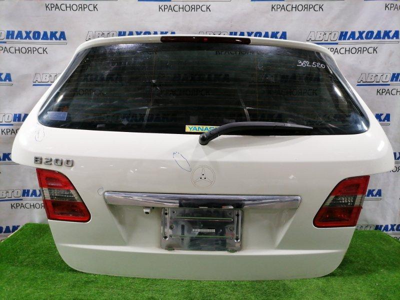 Дверь задняя Mercedes-Benz B200 245.232 M266 E20 2005 задняя в сборе, есть вмятины, потертости до