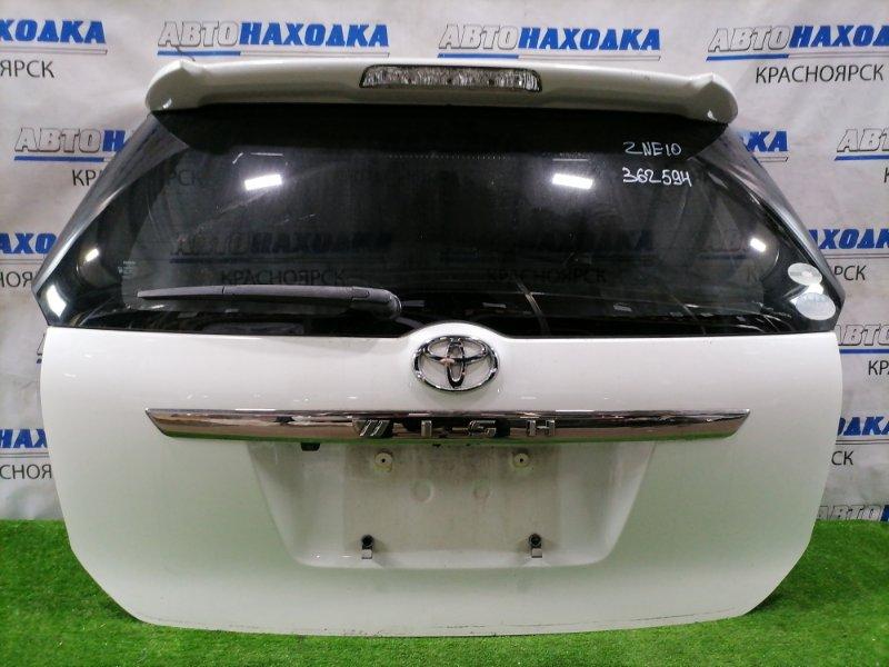 Дверь задняя Toyota Wish ZNE10G 1ZZ-FE 2003 задняя Задняя в сборе, с камерой з/х, цвет 070. Есть