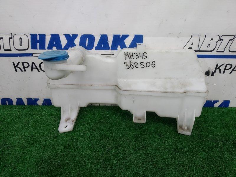 Бачок омывателя Suzuki Wagon R MH34S R06A 2012 с горловиной и крышкой, под 2 моторчика