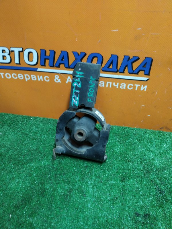 Подушка двигателя Toyota Caldina ZZT241 1ZZ-FE 12.2002 передняя НА ЛЫЖУ.