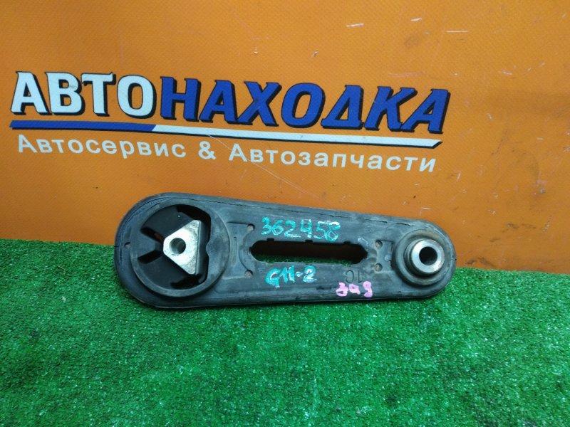 Подушка двигателя Nissan Bluebird Sylphy KG11 MR20DE 02.2006 задняя