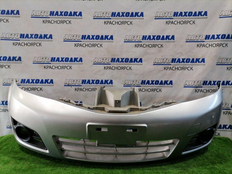 Бампер Nissan Note E11 HR15DE 2008 передний передний, рестайлинг (2 мод.), с туманками. Есть