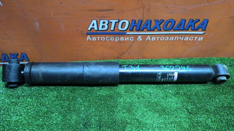 Амортизатор Nissan X-Trail NT31 MR20DE 07.2008 задний 4wd