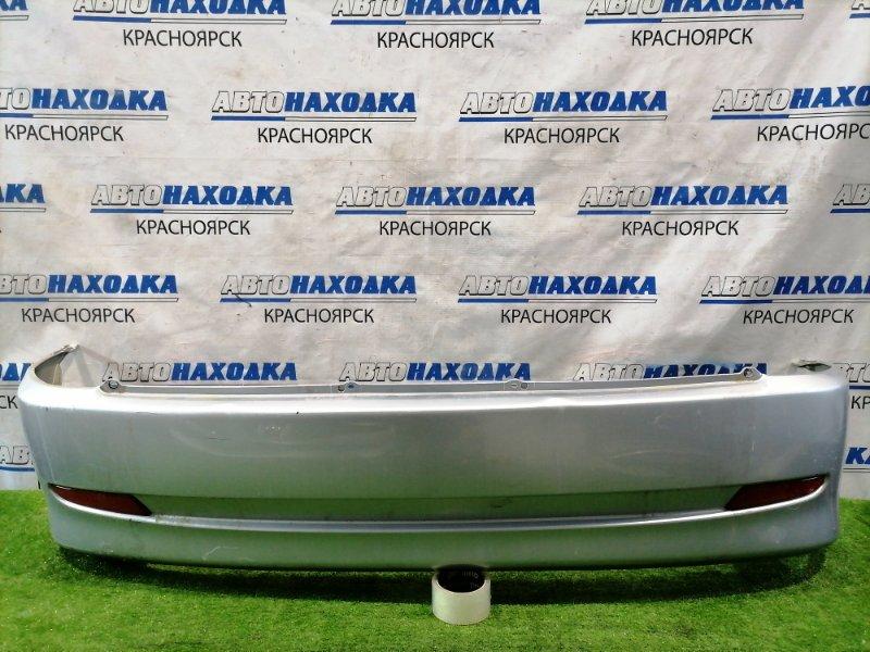 Бампер Toyota Duet M100A EJ-VE 2001 задний Задний, 2-ой рестайлинг (3 мод.), цвет S28. Есть потертости