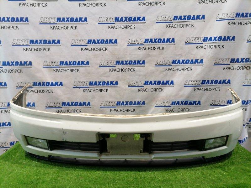 Бампер Nissan Cedric MY34 VQ25DD 1999 передний передний с туманками (114-63538), повторителями (120-63538).
