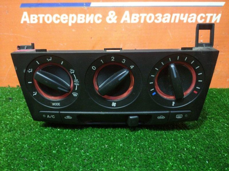 Климат-контроль Mazda Axela BK5P ZY-VE 2003 электромеханический