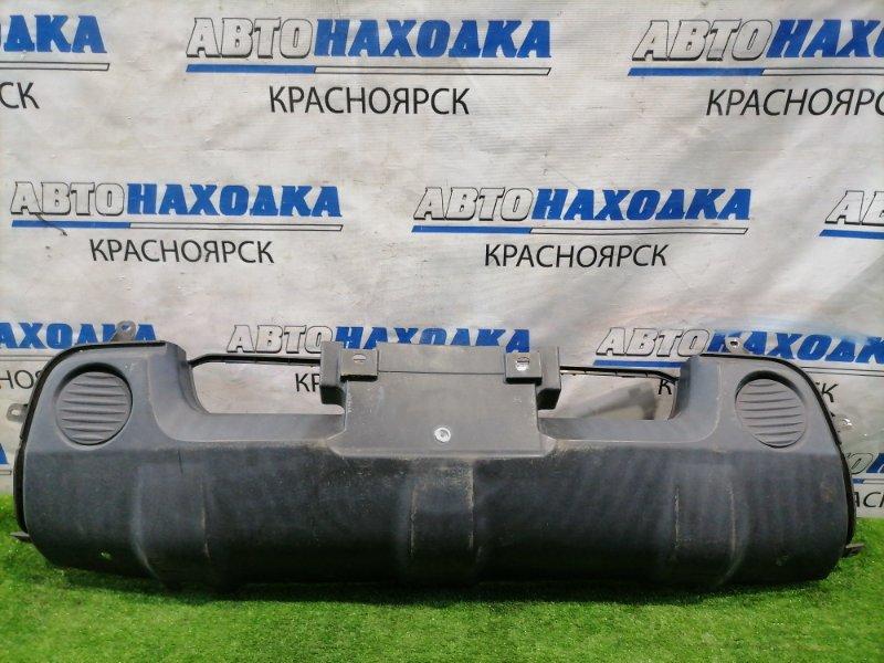 Защита Suzuki Jimny JB23W K6A-T 1998 передняя в передний бампер, надрыв одного крепления.