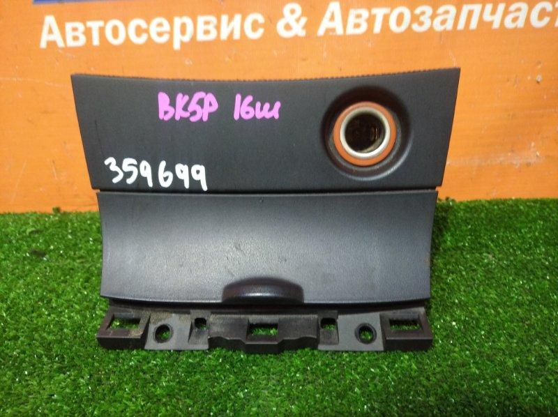 Пластик салона Mazda Axela BK5P ZY-VE 2003 консоль+прикуриватель
