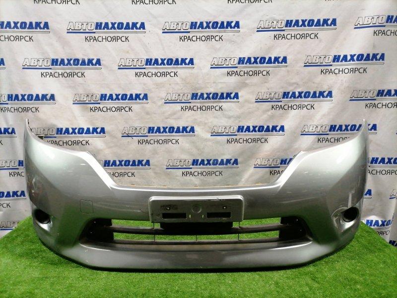 Бампер Nissan Lafesta CWEFWN LF-VDS 2011 передний передний, с заглушками, цвет CS1. Есть дефект