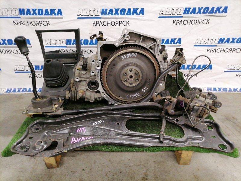 Мкпп Mazda Familia BHALP Z5-DE 1994 С датчиком скорости, с комплектом под переделку, пробег 38 т