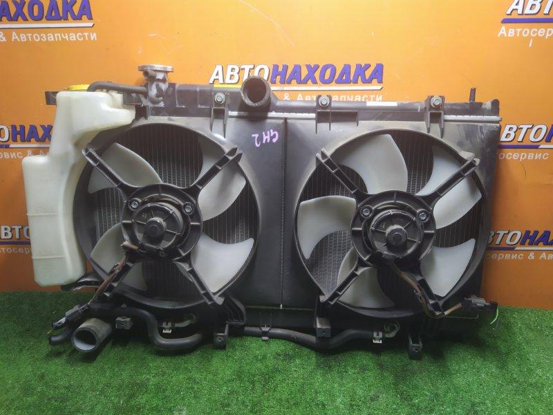 Радиатор двигателя Subaru Impreza GH2 EL154 11.2009 В СБОРЕ С ДИФФУЗОРОМ И РАСШИРИТЕЛЬНЫМ