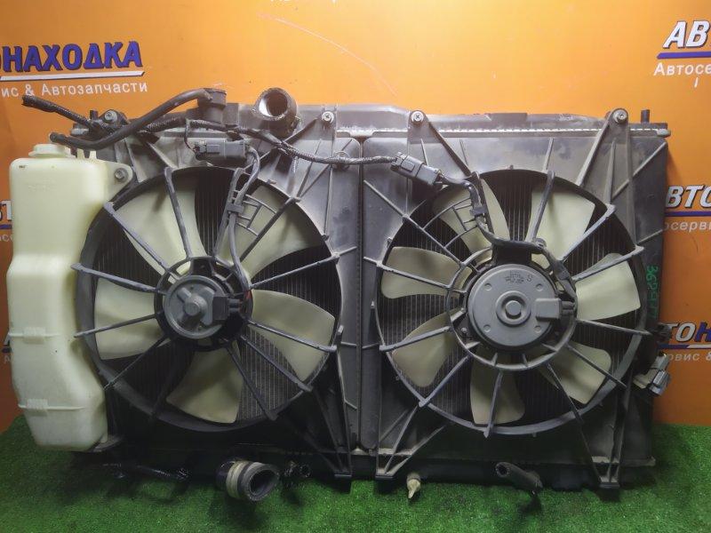Радиатор двигателя Honda Odyssey RB1 K24A В СБОРЕ С ДИФФУЗОРОМ И РАСШИРИТЕЛЬНЫМ БАЧКОМ.