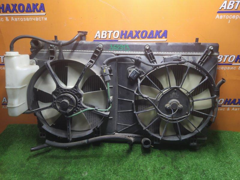 Радиатор двигателя Honda Airwave GJ1 L15A 2005 В СБОРЕ С ДИФФУЗОРОМ И РАСШИРИТЕЛЬНЫМ БАЧКОМ