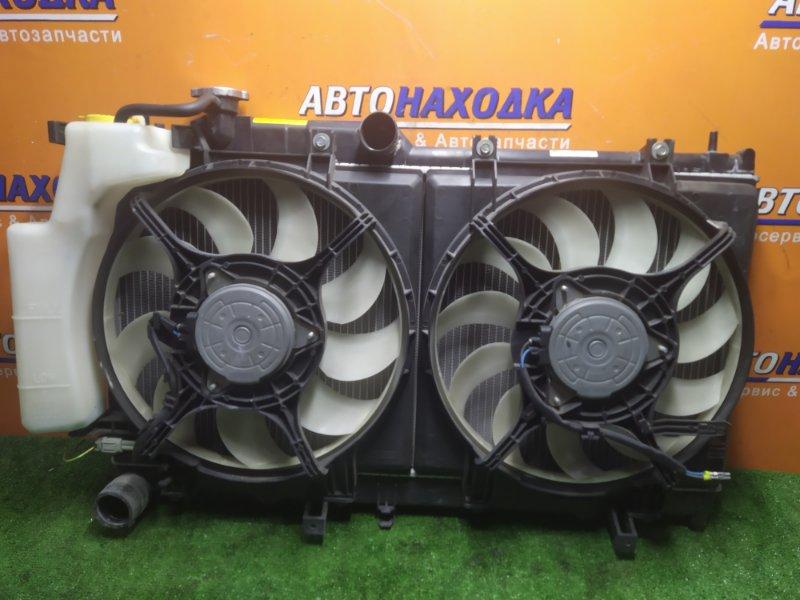 Радиатор двигателя Subaru Impreza GJ6 FB20 01.2013 БЕЗ ТРУБОК ОХЛАЖДЕНИЯ. С ДИФФУЗОРОМ