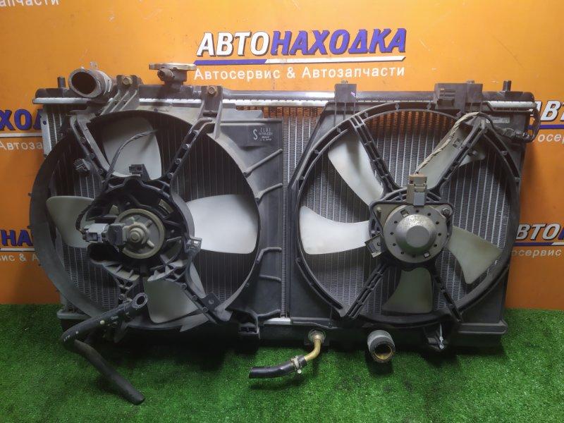Радиатор двигателя Mazda Familia BJ5W ZL-VE 03.02.2000 АВТОМАТ. В СБОРЕ С ДИФФУЗОРОМ..