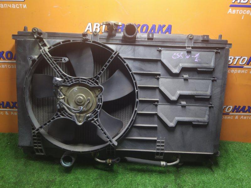 Радиатор двигателя Mitsubishi Lancer Cedia CS5W 4G93 03.12.2002 С ТРУБКАМИ ОХЛАЖДЕНИЯ. С ДИФФУЗОРОМ.