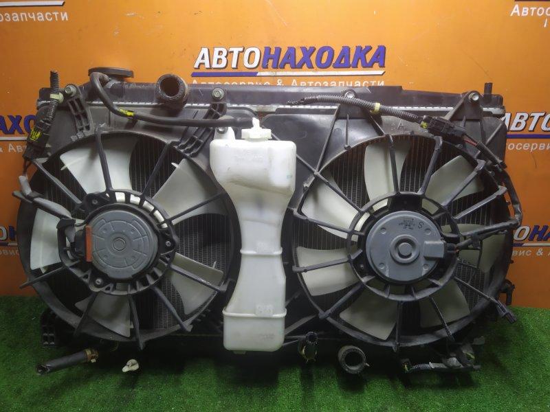 Радиатор двигателя Honda Fit GE6 L13A +ДИФФУЗОР. +РАСШИРИТЕЛЬНЫЙ БАЧОК.