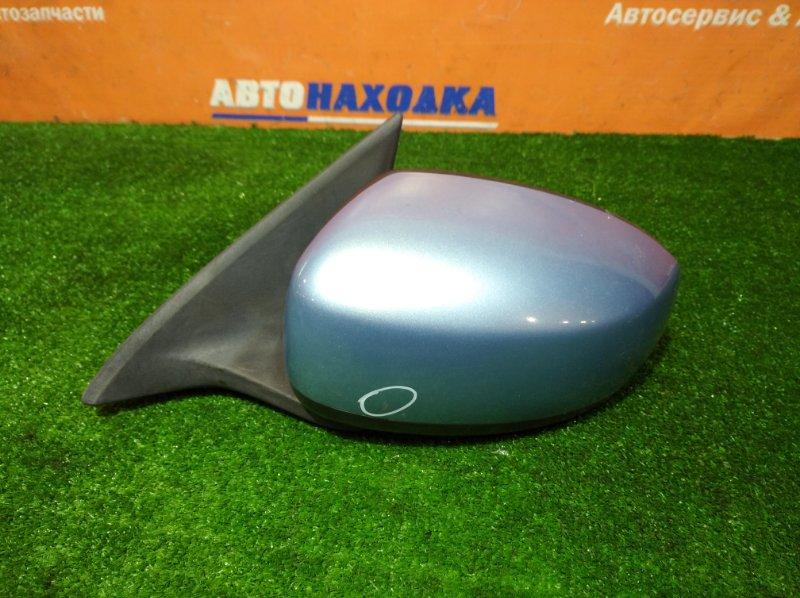 Зеркало Nissan Bluebird Sylphy G11 HR15DE 2005 переднее левое 11 контактов есть царапина