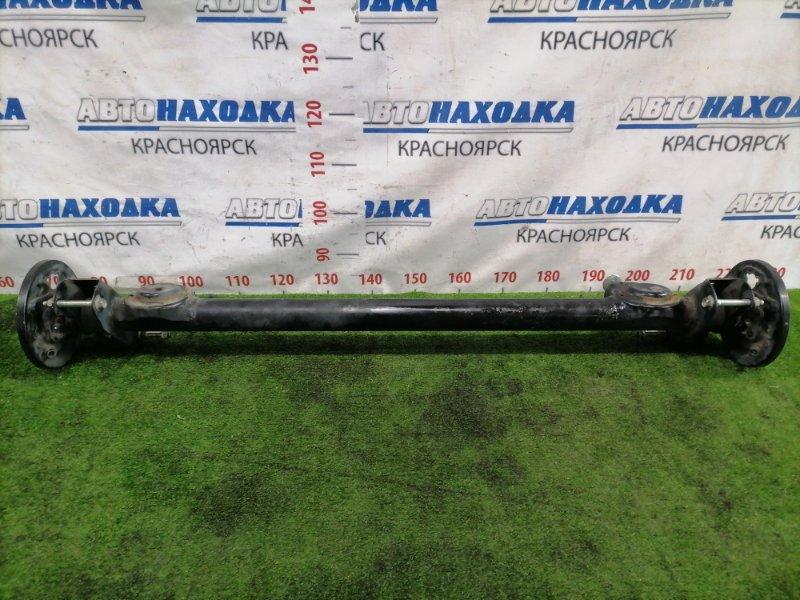 Балка поперечная Suzuki Wagon R MH34S R06A 2012 задняя Задняя, без ступиц, с аукционного авто