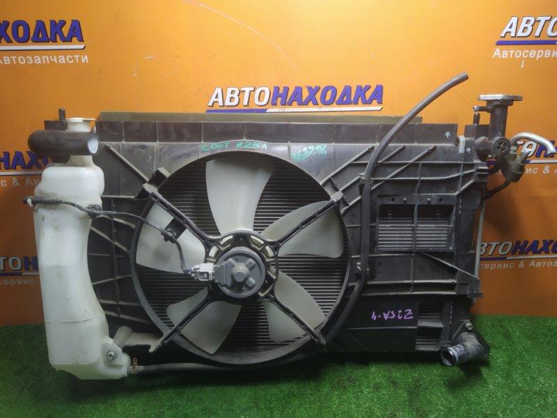 Радиатор двигателя Mitsubishi Colt Z21A 4A90 03.08.2010 БЕЗ ТРУБОК ОХЛАЖДЕНИЯ. С ДИФФУЗОРОМ,