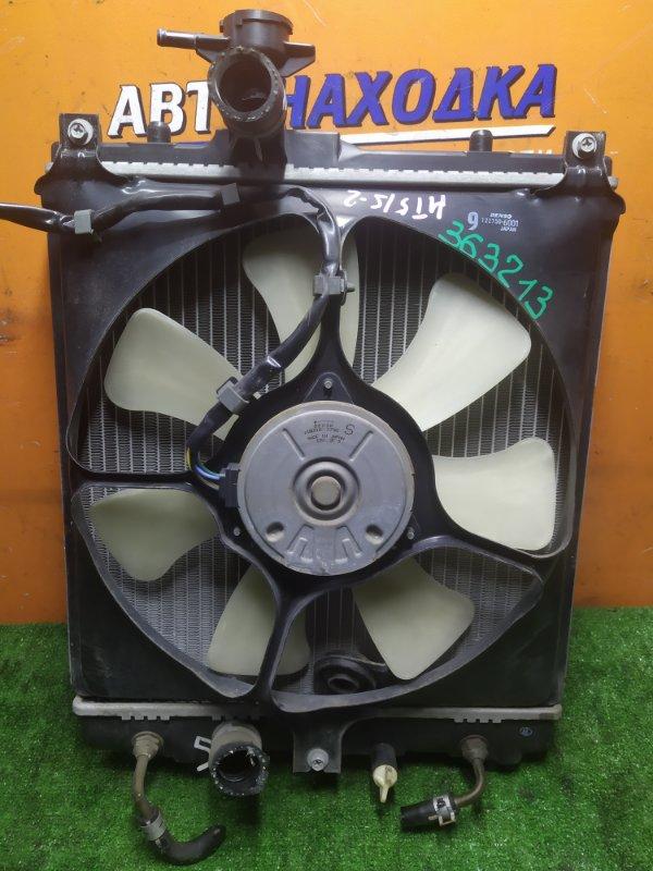 Радиатор двигателя Suzuki Swift HT51S M13A 02.2004 С ТРУБКАМИ ОХЛАЖДЕНИЯ. С ДИФФУЗОРОМ ,