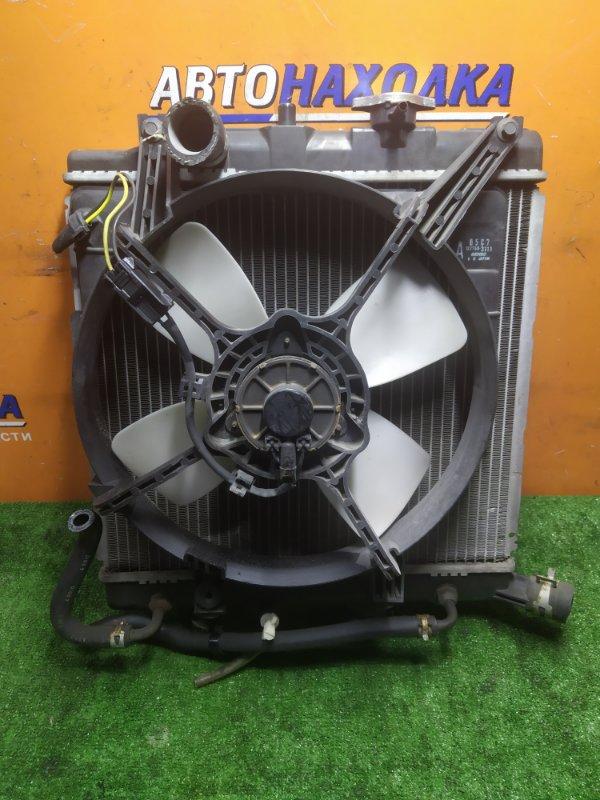 Радиатор двигателя Mazda Demio DW3W B3 1MOD. ПОД ОДИН КРЕПЕЖ. С ТРУБКАМИ ОХЛАЖДЕНИЯ . С
