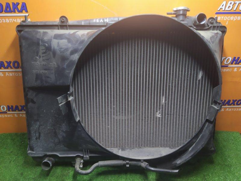 Радиатор двигателя Nissan Cedric HY33 VQ30DE 11.1995 С ТРУБКАМИ ОХЛАЖДЕНИЯ. С ДИФФУЗОРОМ