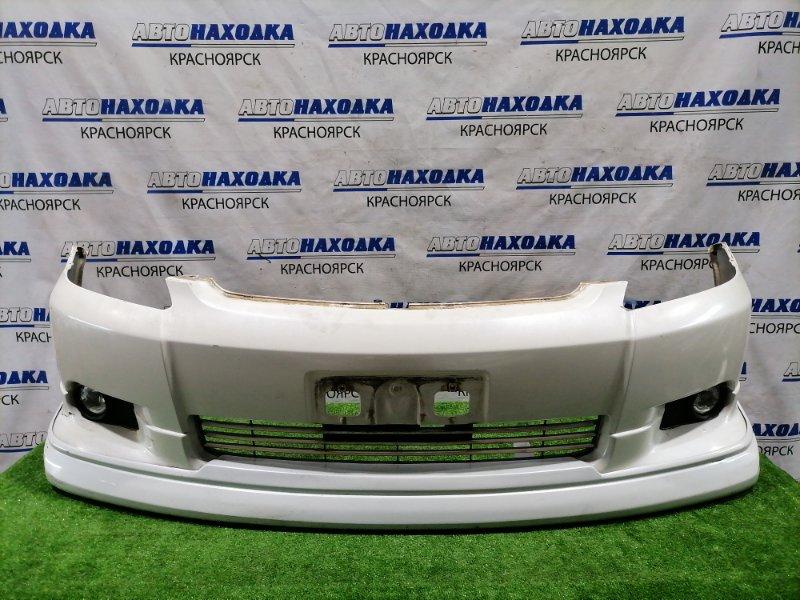 Бампер Toyota Wish ZNE10G 1ZZ-FE 2003 передний передний, 1 модель (дорестайлинг), с туманками ( 52-040),