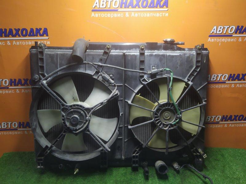 Радиатор двигателя Honda Stepwgn RF3 K20A 2001 С ТРУБКАМИ ОХЛАЖДЕНИЯ. С ДИФФУЗОРОМ