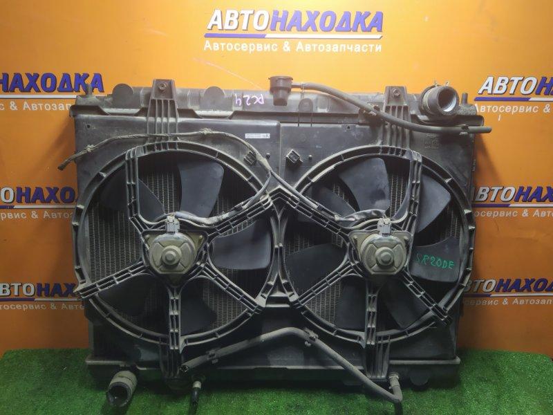Радиатор двигателя Nissan Serena PC24 SR20DE 09.2000 С ТРУБКАМИ ОХЛАЖДЕНИЯ. С ДИФФУЗОРОМ