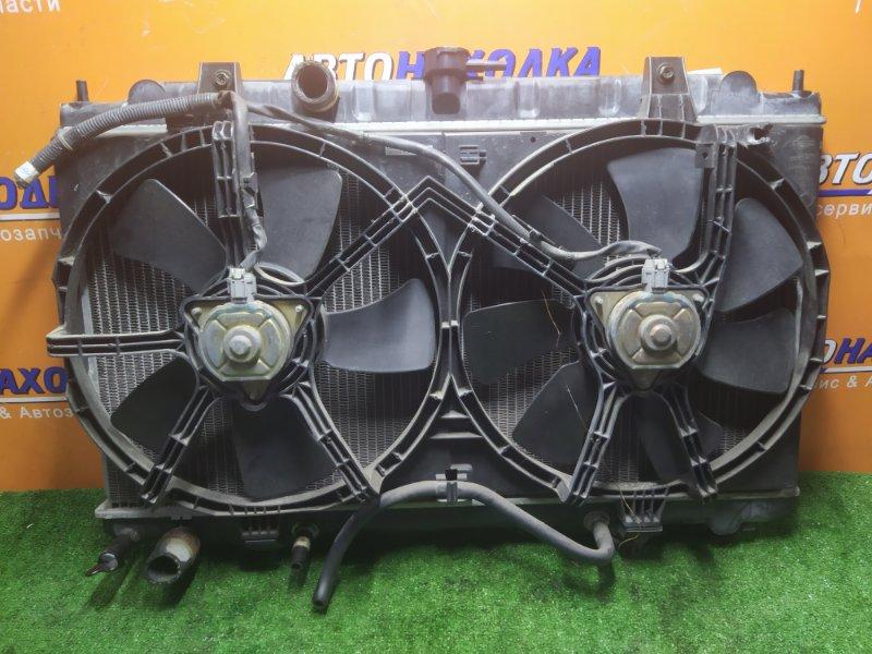 Радиатор двигателя Nissan Ad VY11 QG13DE 04.2002 АВТОМАТ. В СБОРЕ С ДИФФУЗОРОМ..