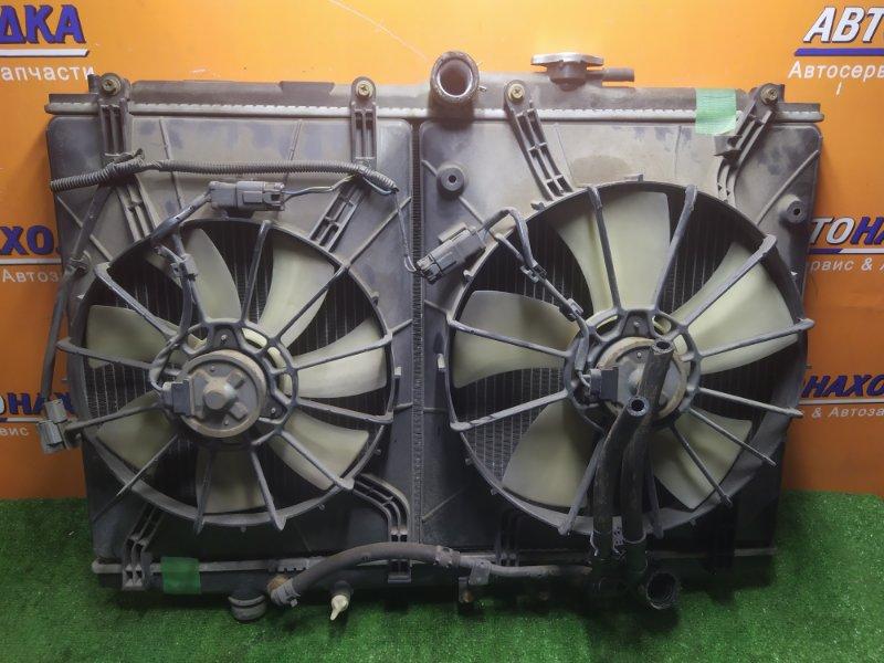 Радиатор двигателя Honda Odyssey RA6 F23A 2000 С ТРУБКАМИ ОХЛАЖДЕНИЯ. С ДИФФУЗОРОМ
