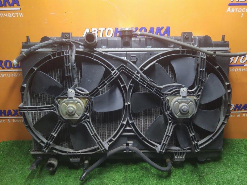 Радиатор двигателя Nissan Wingroad WFY11 QG15DE 02.2002 С ТРУБКАМИ ОХЛАЖДЕНИЯ. С ДИФФУЗОРОМ
