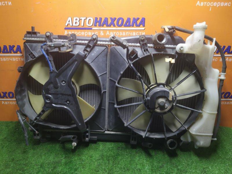 Радиатор двигателя Honda Civic EU1 D15B 2001 С ТРУБКАМИ ОХЛАЖДЕНИЯ. С ДИФФУЗОРОМ