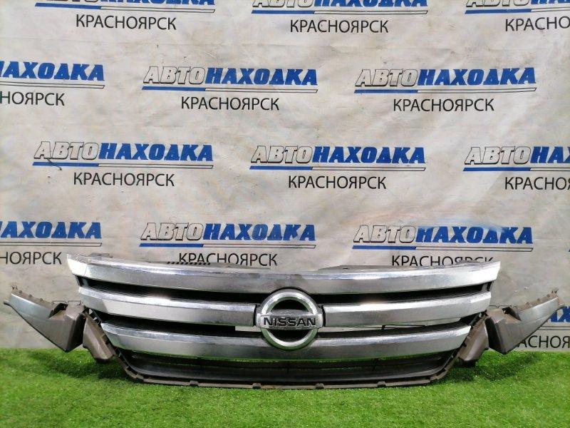 Решетка радиатора Nissan Lafesta CWEFWN LF-VDS 2011 передняя Дефект хрома.