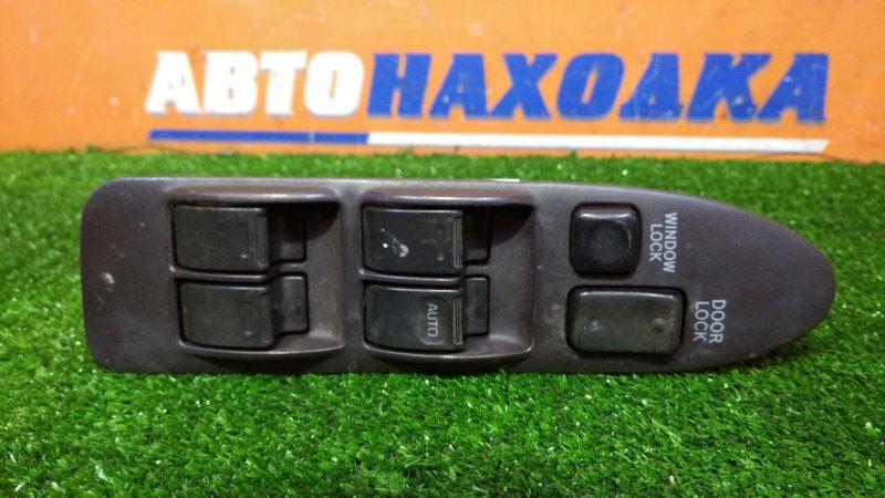 Блок управления стеклоподъемниками Toyota Sprinter AE100 5A-FE 1991 передний правый с накладкой