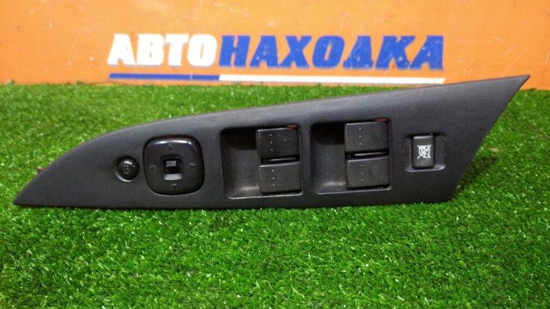 Блок управления стеклоподъемниками Mazda Axela BK5P ZY-VE 2003 передний правый с накладкой+блок