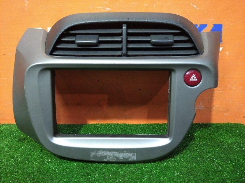 Консоль магнитофона Honda Fit GE6 L13A 2010 2 мод +воздуховоды