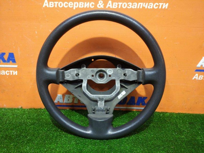 Руль Toyota Ist NCP60 2NZ-FE 2002 3 спицы без заглушки
