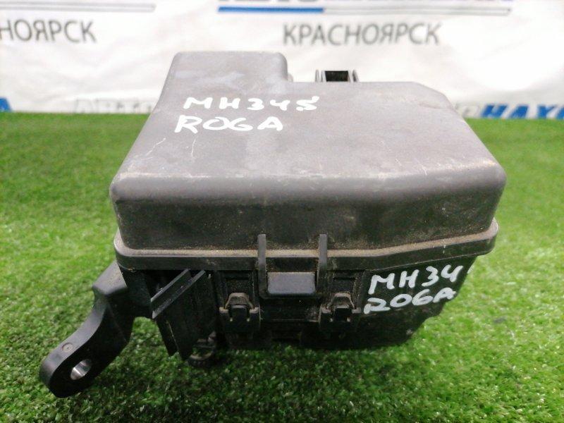 Блок предохранителей Suzuki Wagon R MH34S R06A 2012 подкапотный, в сборе
