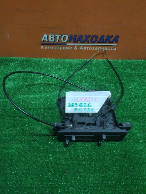 Климат-контроль Nissan Pulsar FN14 GA15DS 11.1993 МЕХАНИЧЕСКИЙ. +ТРОСИКИ