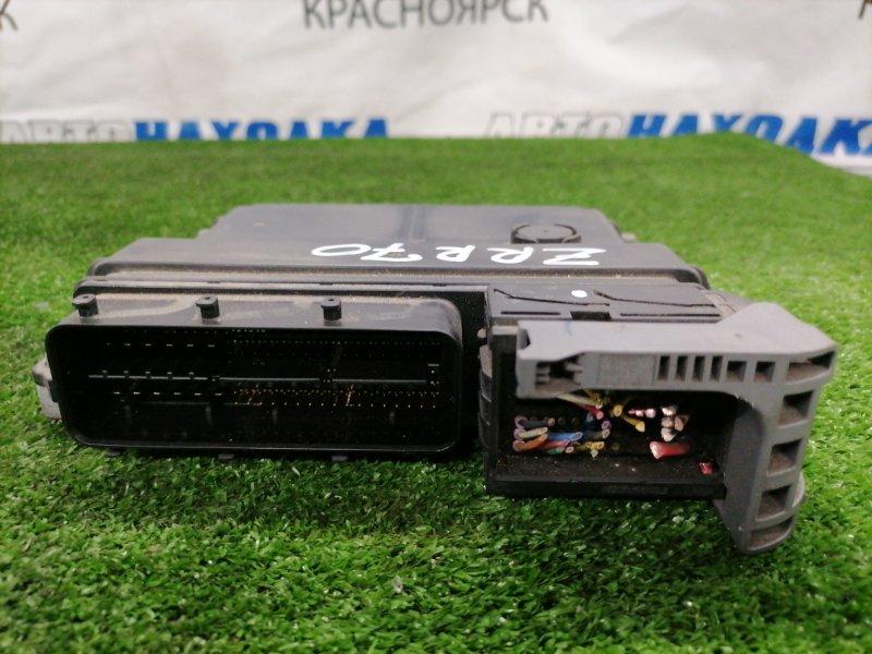 Компьютер Toyota Voxy ZRR70G 3ZR-FE 2007 21200-3560 блок управления ДВС