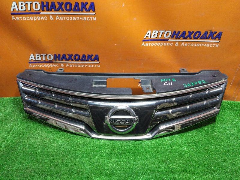 Решетка радиатора Nissan Note E11 HR15DE 62310-8Y20A 2MOD.