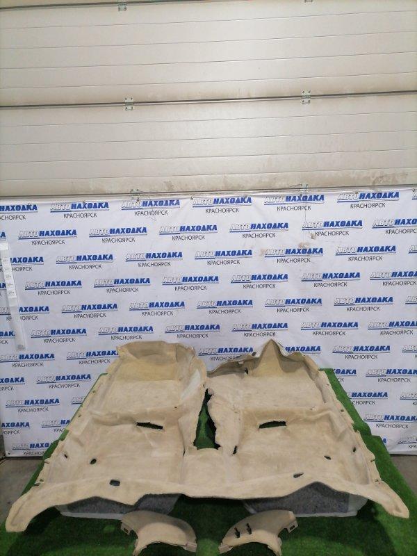 Обшивка пола Toyota Windom MCV21 2MZ-FE 1996 Ковровое покрытие пола в салон, под чистку.