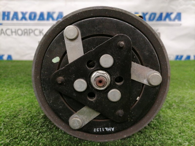 Компрессор кондиционера Peugeot 207 WC EP6C 2009 9670318880 пробег 32 т.км. С аукционного авто. 1,6 EP6