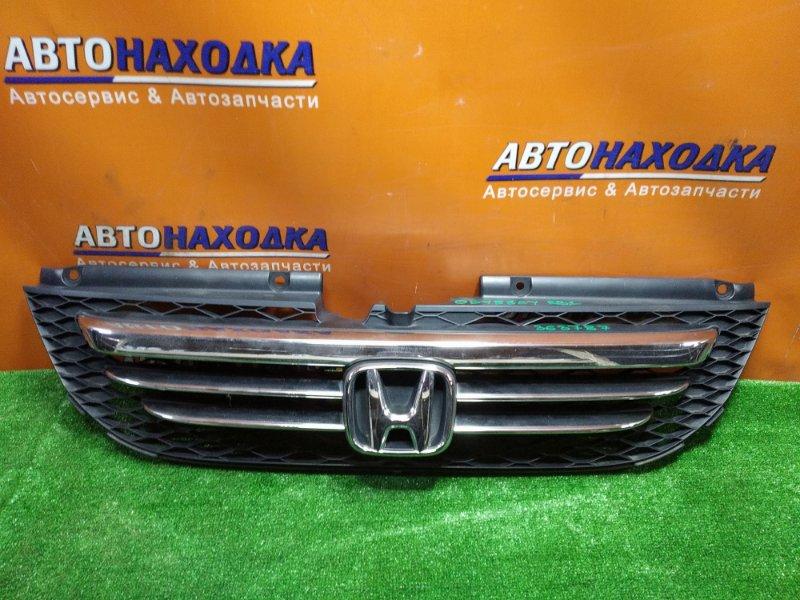 Решетка радиатора Honda Odyssey RB1 K24A 2004 передняя ХРОМ ОК.