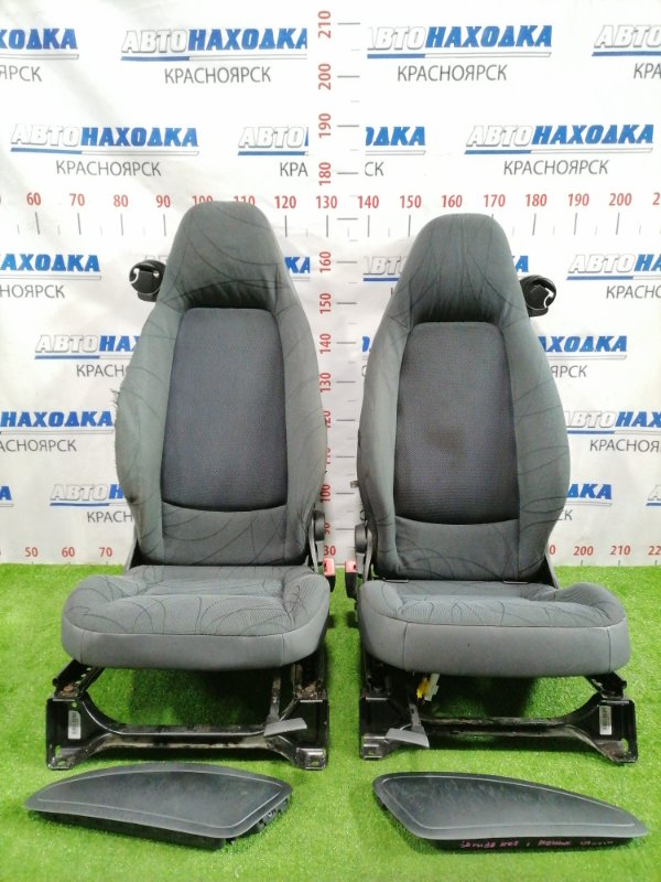 Сиденья Smart Fortwo C451.330 M132E10 2006 передняя Пара сидений с механическими регулировками,