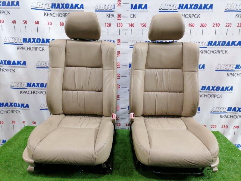 Сиденья Toyota Windom MCV21 2MZ-FE 1996 передняя передние, пара, на правом сиденье электрические