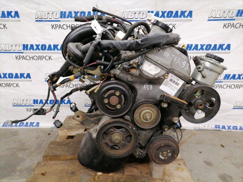 Двигатель Toyota Vitz SCP10 1SZ-FE 1999 0879252 № 0879252, пробег 30 т.км. С аукционного авто. Есть видео