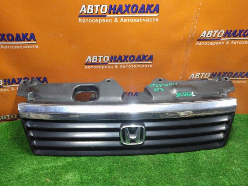 Решетка радиатора Honda Stepwgn RF3 K20A 71121S7S0030 1MOD. ХРОМ ПОДЫМАЕТСЯ
